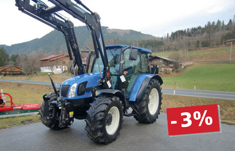 New Holland T 5040 + FH + Hydrac FL